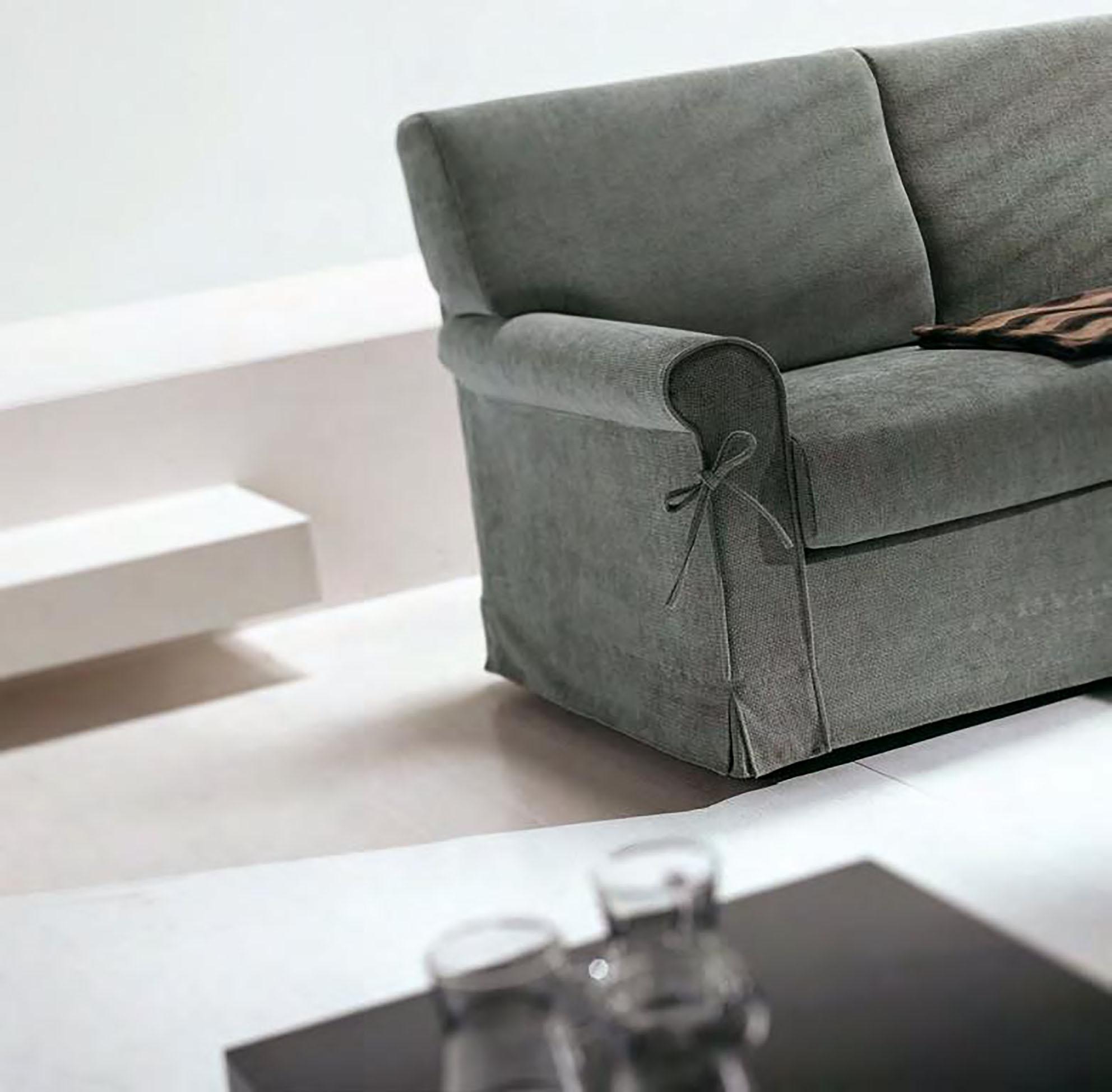 Divano a 3 posti modello canova errebi salotti divani a - Lunghezza divano 3 posti ...