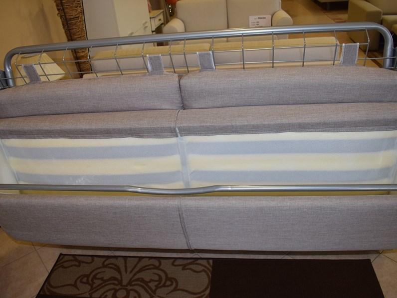 Divano a letto tre posti con rete e materasso - Materasso per divano letto 3 posti ...