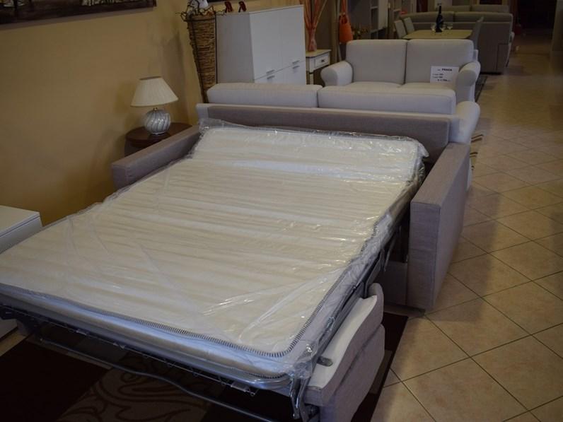 Divano a letto tre posti con rete e materasso - Letto con materasso incluso ...