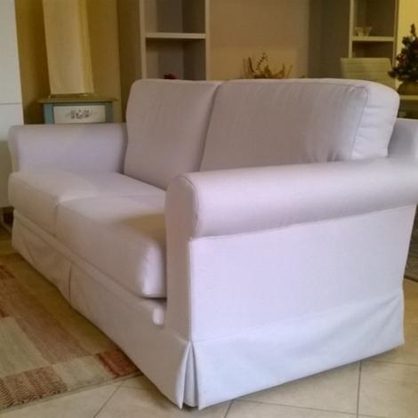 Divano tessuto bianco idee per il design della casa - Divano bianco e grigio ...