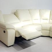 Outlet divani angolari - Divano ad angolo in pelle ...