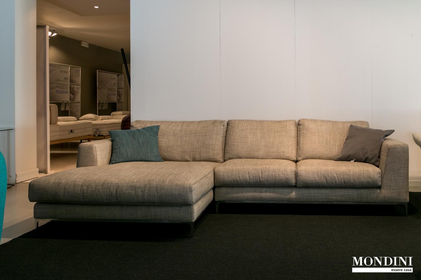 outlet divani: offerte divani online a prezzi scontati pagina ... - Angolo Divani In Copertina Nera