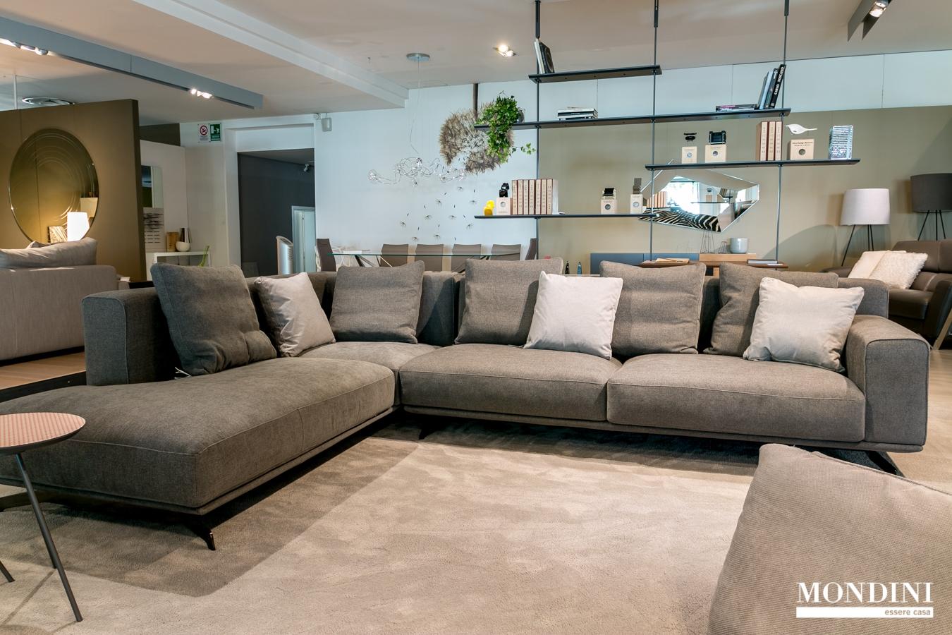 Divano ad angolo ditr italia modello dalton soft scontato del 40 divani a prezzi scontati - Dimensioni divano ad angolo ...