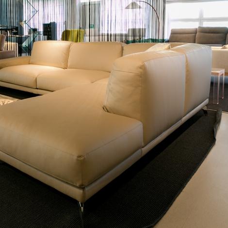 Divano ad angolo ditr italia modello shade scontato del 45 divani a prezzi scontati - Divano ad angolo prezzi ...