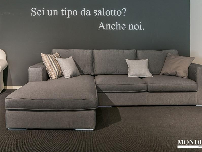 Divano ad angolo ditr italia modello william scontato del 45 for Mondini arredamenti suzzara