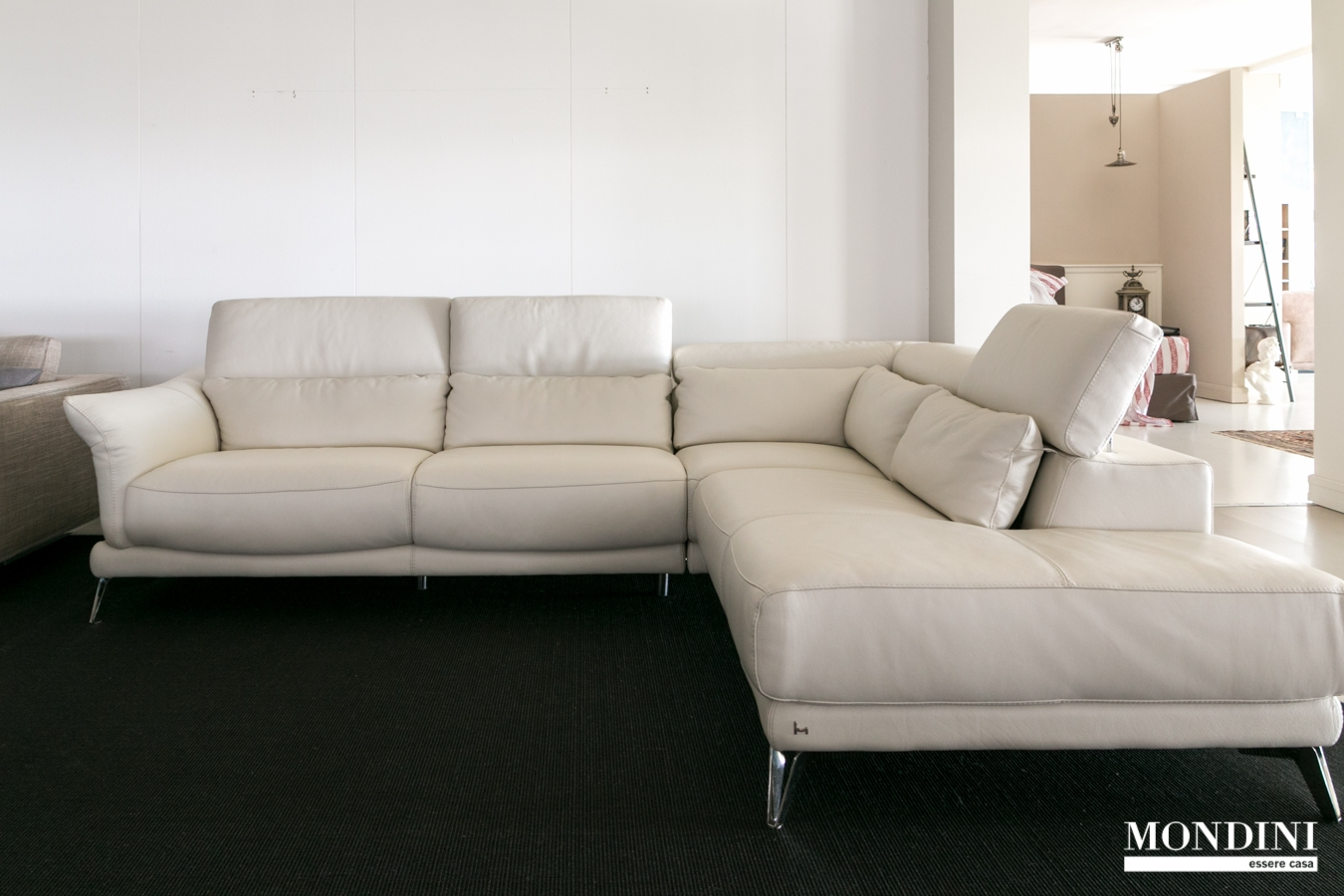 Divano ad angolo modello giotto di nicoletti scontato del 50 divani a prezzi scontati - Dimensioni divano ad angolo ...