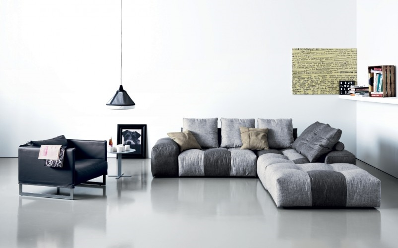 Divano ad angolo saba modello pixel patchwork divani a for Divani saba prezzi