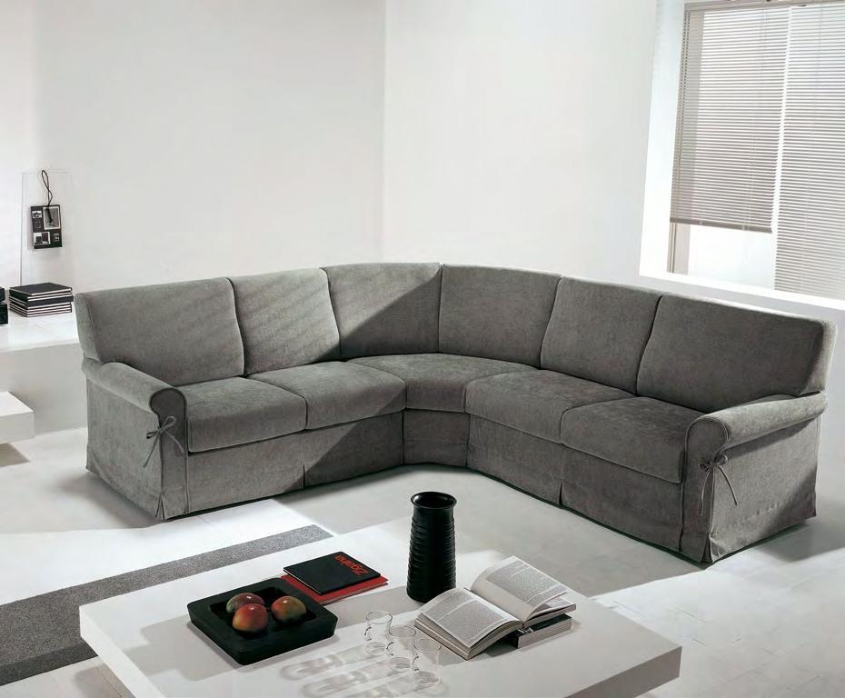 divano angolare 5 posti modello canova errebi salotti