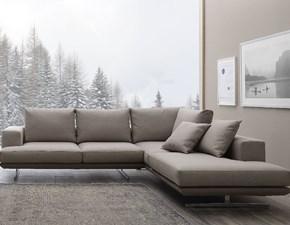Divano angolare Alovun Crippa divani&letti con sconto 50%
