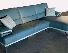 Divano angolare Art.135 divano in pelle mod.giada serie cr Collezione esclusiva ad un prezzo imperdibile