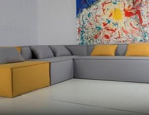 Divano angolare Bold Isd italian sofa design a prezzo ribassato