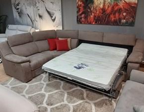 Divano angolare Colosseo letto e relax Artigianale in Offerta Outlet
