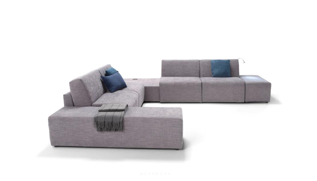 Divano angolare con letto divani a prezzi scontati for Divano angolare prezzi