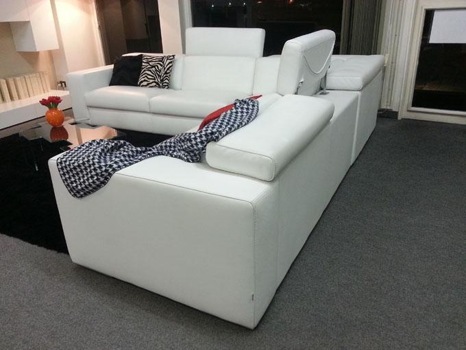 Divano in pelle relax sottocosto divani a prezzi scontati for Divano angolare relax