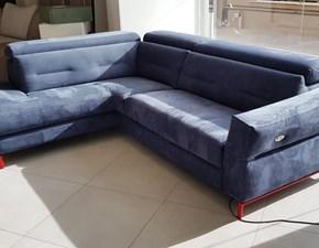 Divano angolare in stile Design Con movimento relax a prezzi convenienti