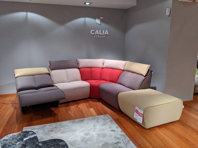 Divani Con Movimento Relax.Divano Angolare In Stile Design Con Movimento Relax A Prezzi Outlet
