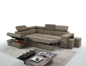 Divano angolare in stile Moderno Con seduta estraibile a prezzi outlet