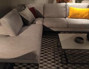 Divano angolare in stile Moderno Con seduta fissa in offerta