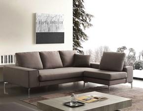 Divano angolare in Tessuto Crippa divani&letti a prezzo ribassato