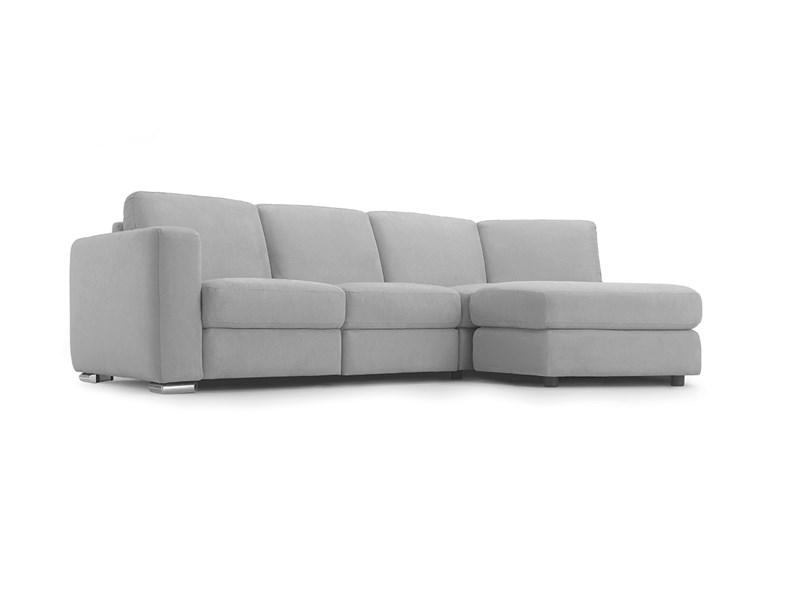 Divano angolare in tessuto easy sofas scontato del 50 for Prezzi divani angolari tessuto