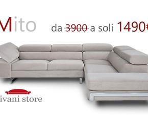 Divano angolare Mito Divani store a prezzi outlet