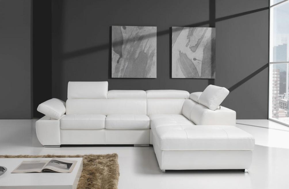 Divano angolare modello aurora divani a prezzi scontati for Dimensioni divano angolare