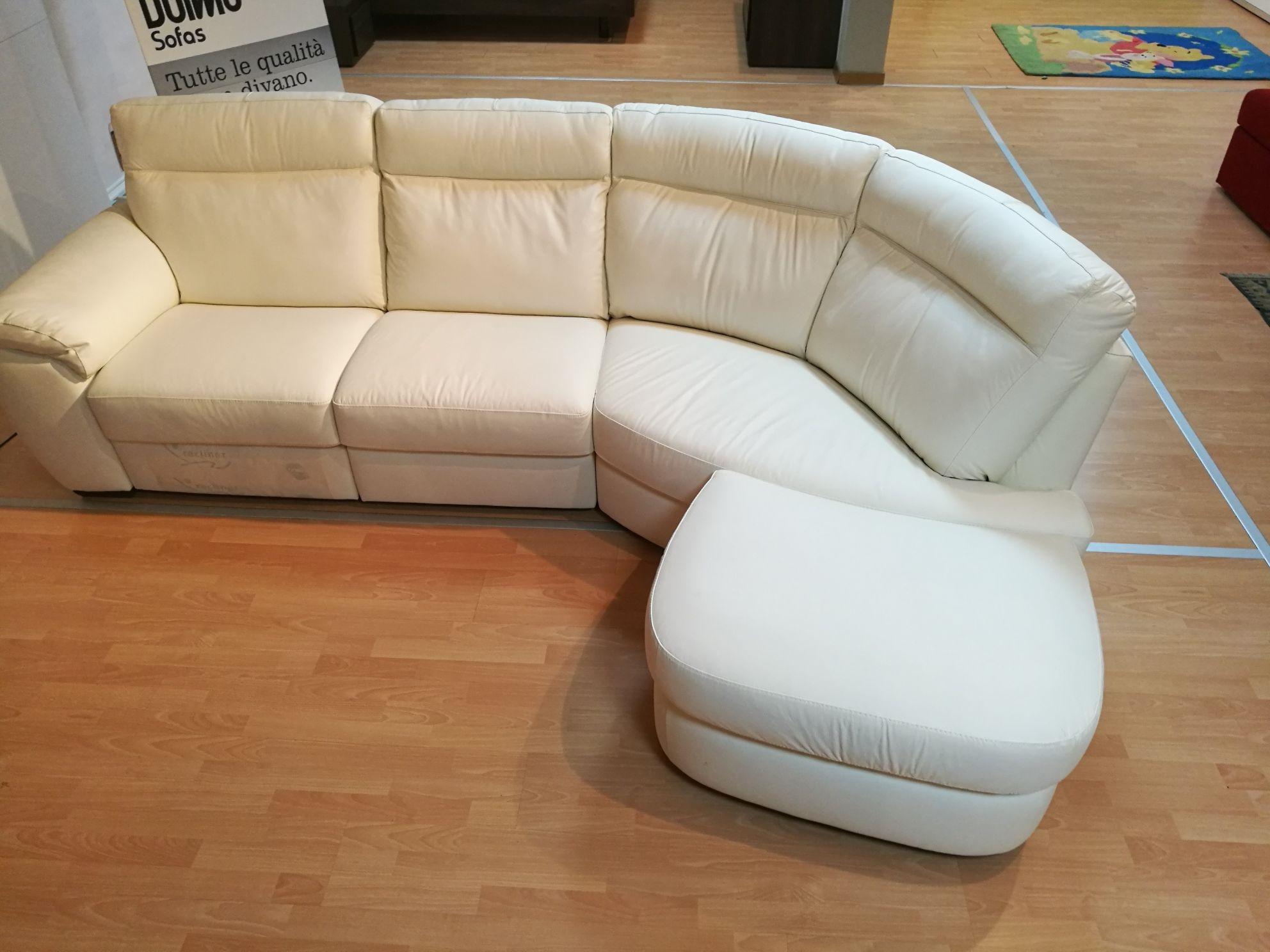 Divano angolo doimo sofas mod charles pelle scontato 65 - Pelle del divano rovinata ...