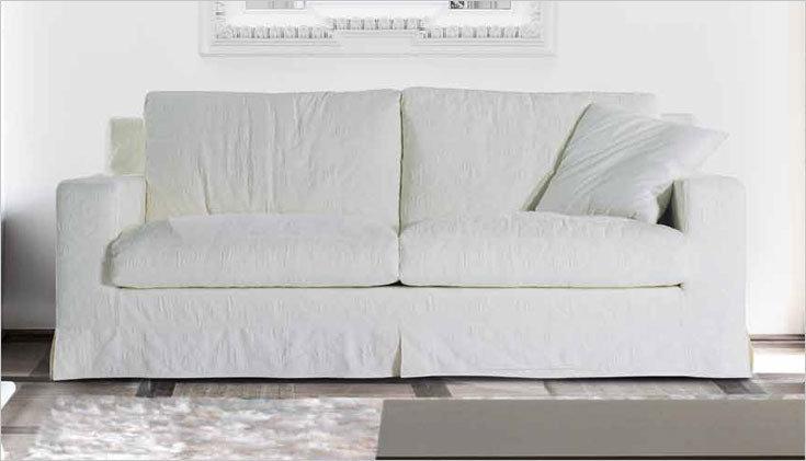 Divano attilio con penisola divani a prezzi scontati for Divano 2 posti penisola