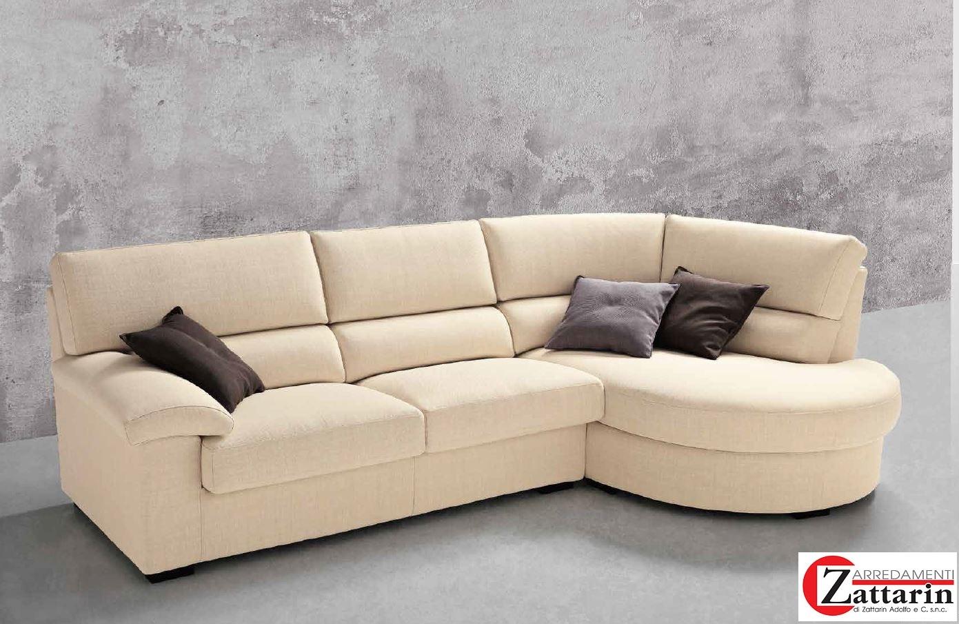 Divano bi el salotti bolero divani con chaise longue tessuto divani a prezzi scontati - Divano 4 posti con chaise longue ...