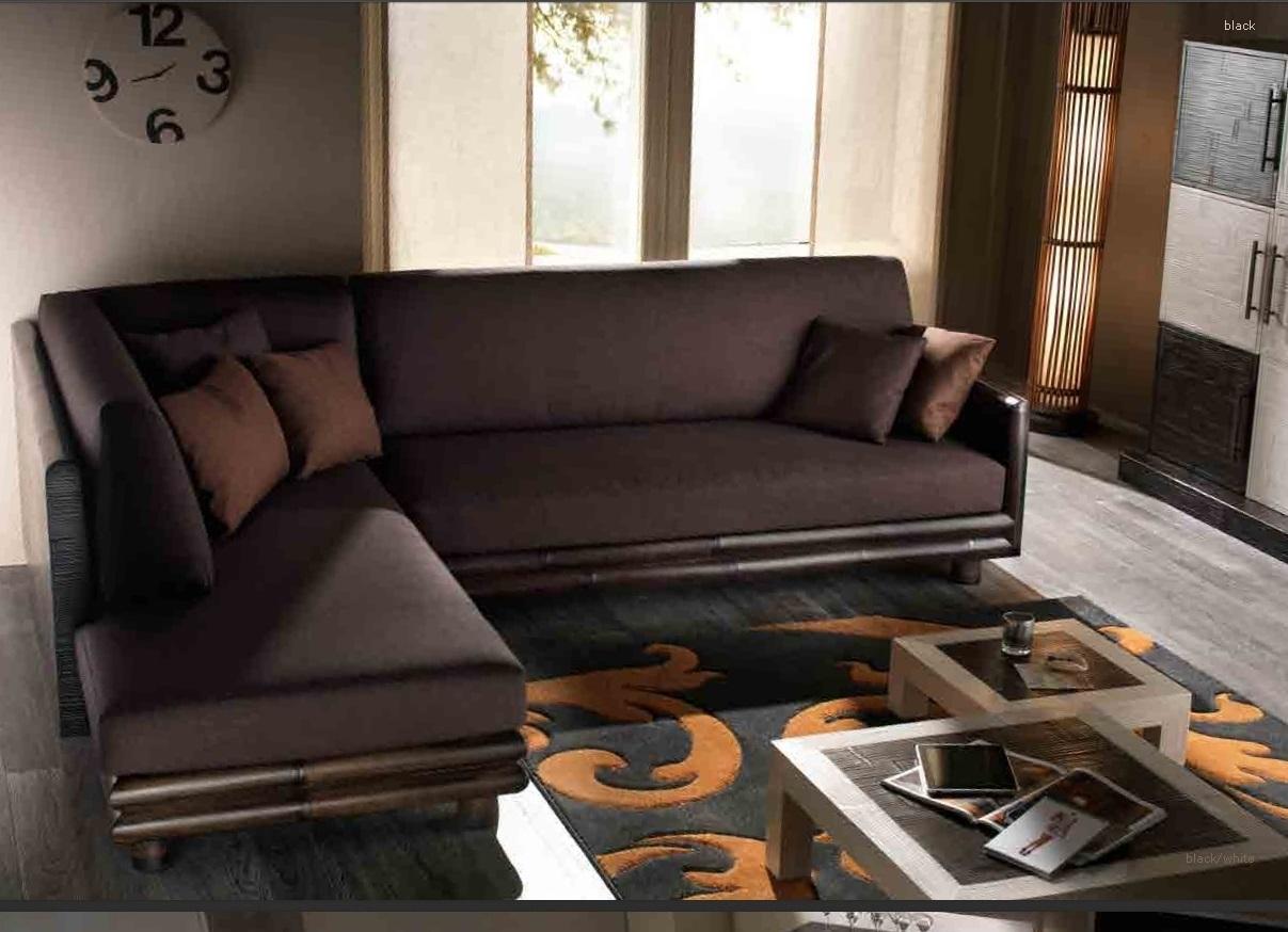 Divano bortoli divano convenienza in bambu 39 divano con - Divano a penisola ...