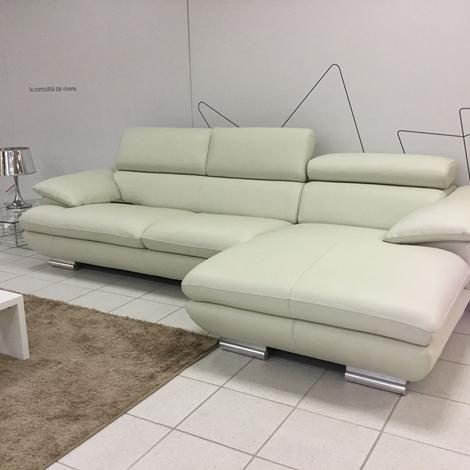 Divano pelle con chaise longue idee per il design della casa - Divano con chaise longue ...