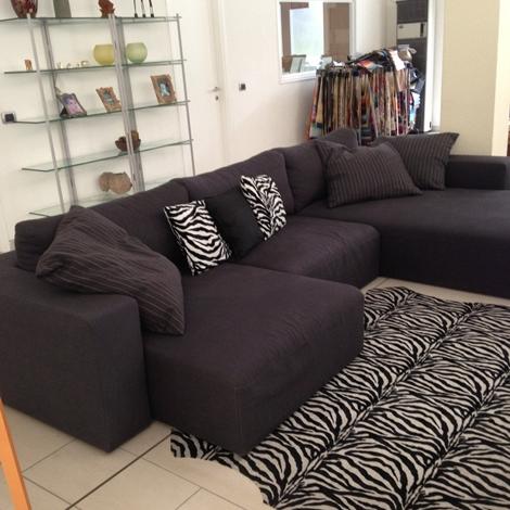 Divano chaise longue offerta divani a prezzi scontati - Divano chaise longue estraibile ...