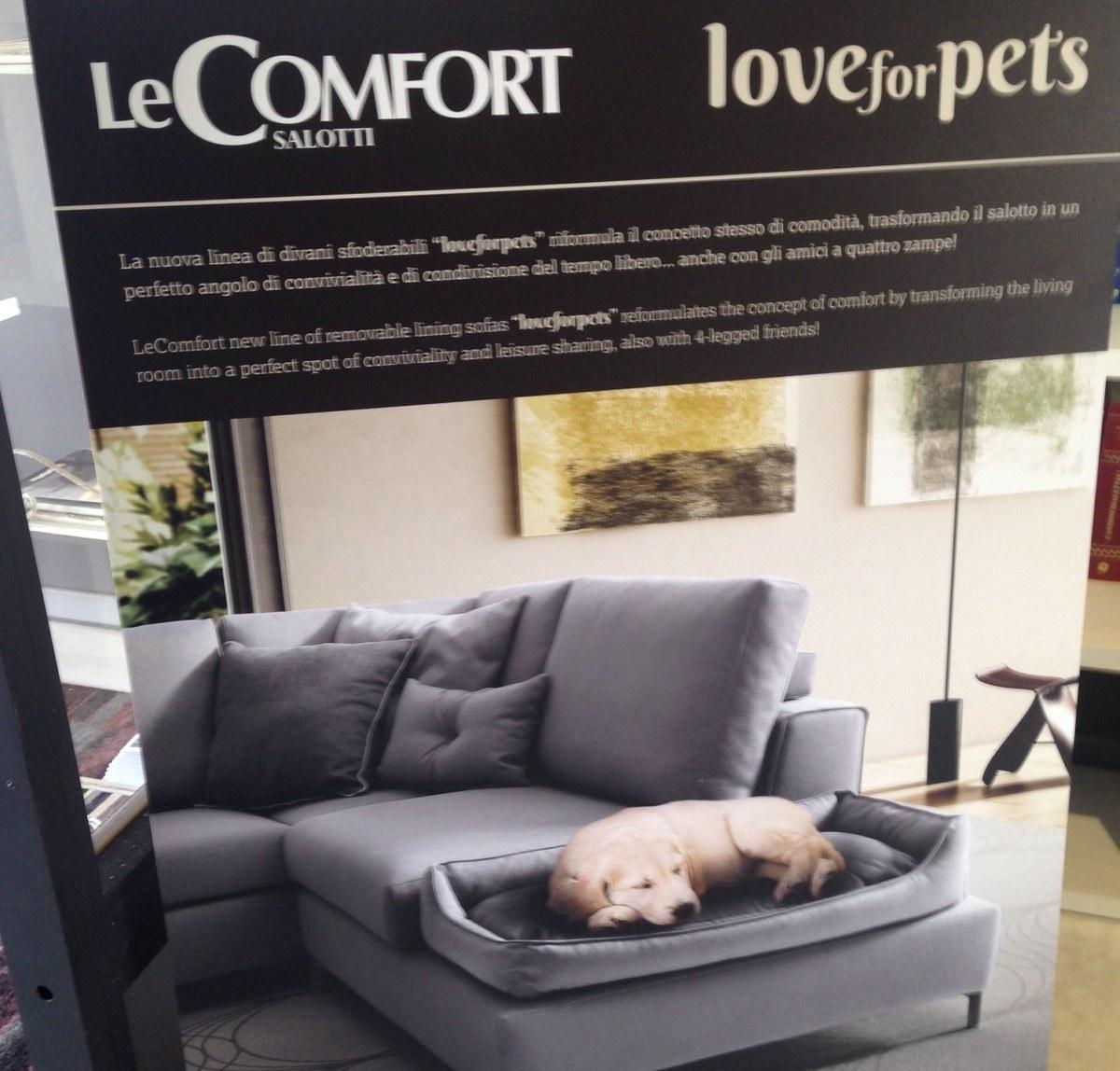 Divano comfort divano harmony tessuto divani a prezzi for Le comfort divani