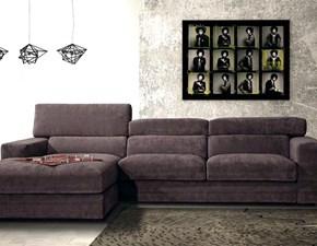 Divano con chaise longue modello Star della Errebi Salotti
