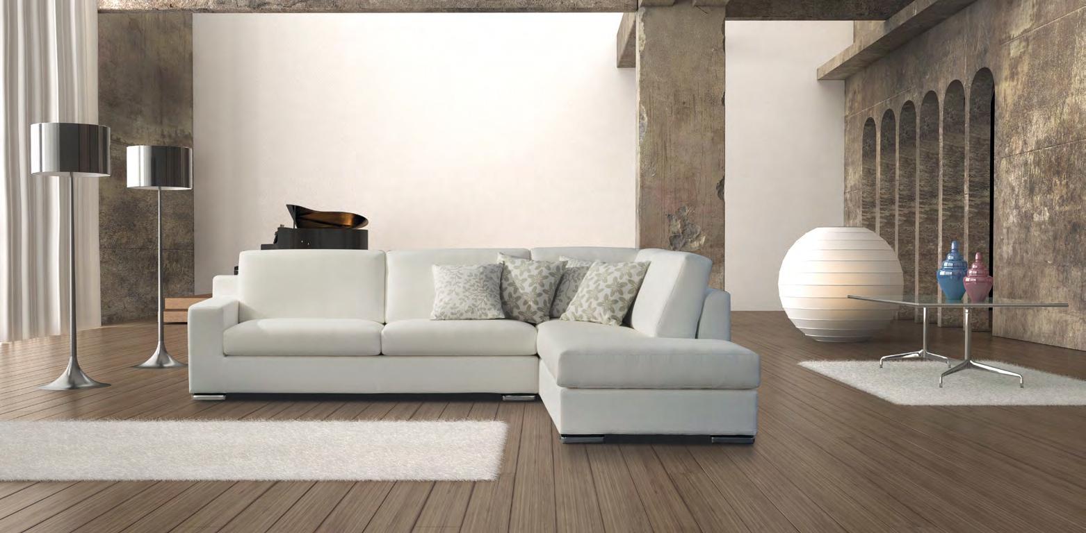 Divano con chaise longue in tessuto scontato divani a - Creare un divano ...