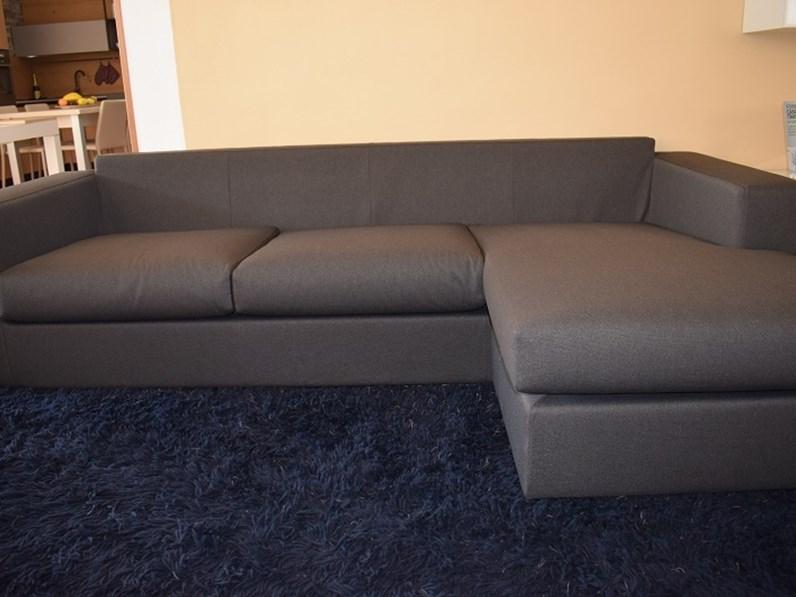 Divano con chaise longue in tessuto sfoderabile a tre posti - Divano 4 posti con chaise longue ...