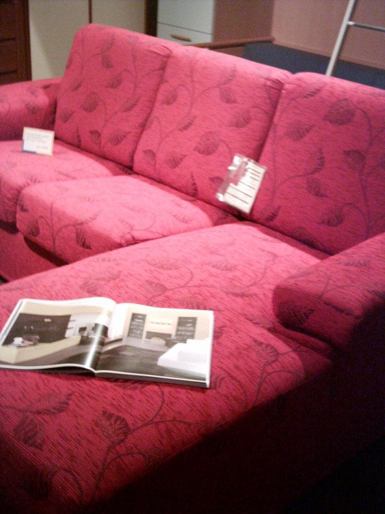 Divano con penisola 8396 divani a prezzi scontati - Divano letto con penisola prezzi ...