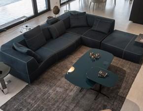Divano con penisola Bend - sofa B&b a prezzo ribassato