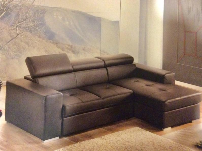 Divano con penisola divano letto artigianale offerta outlet - Divano letto outlet ...