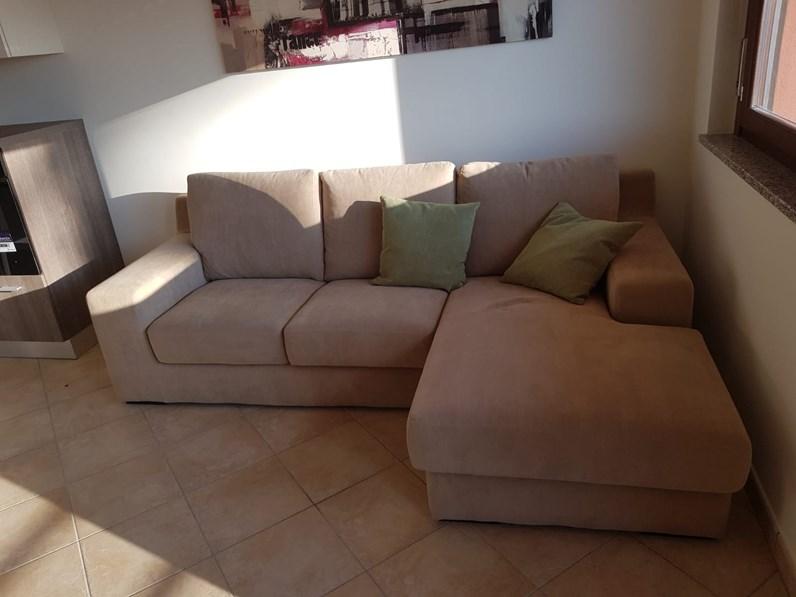 Divano con penisola felis felis con sconto 51 - Rivestimento divano costo ...