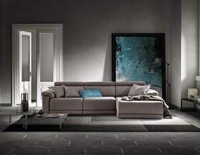 Divano con penisola in stile Design Con seduta estraibile a prezzi convenienti
