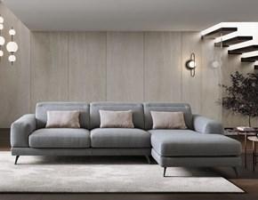 Divano con penisola in stile Moderno Con seduta allungabile in offerta