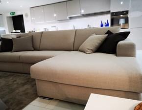 Divano con penisola in Tessuto Doimo sofas a prezzo scontato
