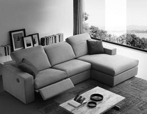 Divano con penisola Magnum Crippa divani&letti PREZZI OUTLET