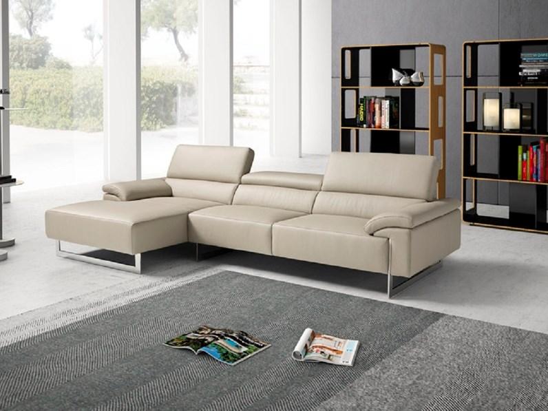 Divano con penisola malika egoitaliano prezzi outlet for Outlet divani design