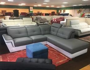 Divano con penisola Maryland Vama divani in Offerta Outlet