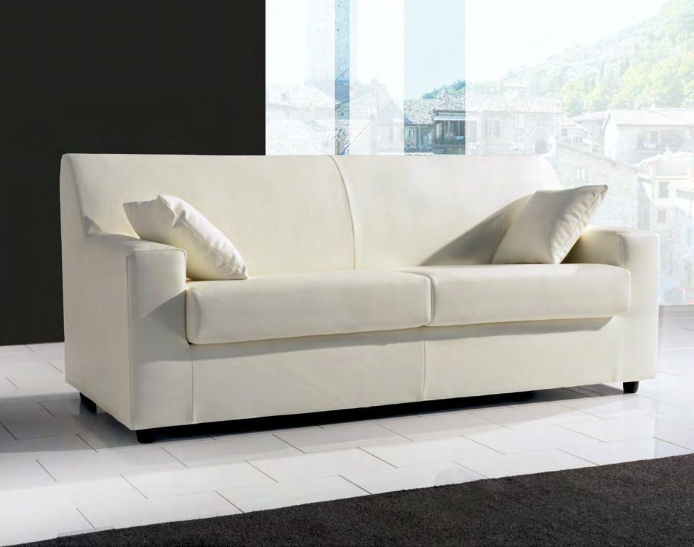 Errebi divano conver divani lineari tessuto divano 3 posti for Lunghezza divano tre posti
