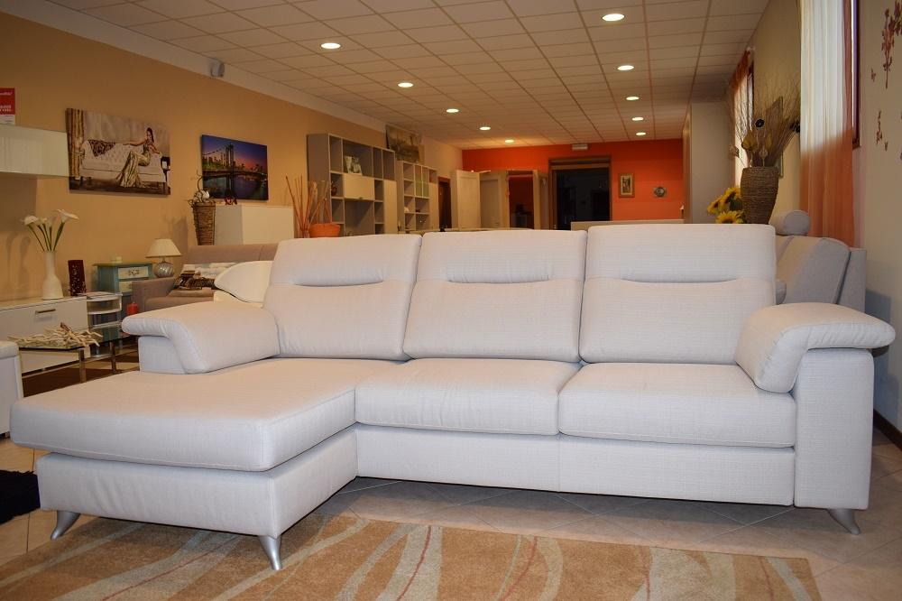 Divano con penisola reversibile schienale alto divani a - Divano schienale alto ...