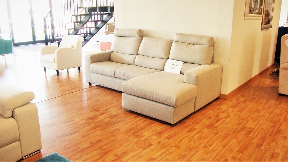 Divano con penisola super offerta divani a prezzi scontati - Divano penisola offerta ...