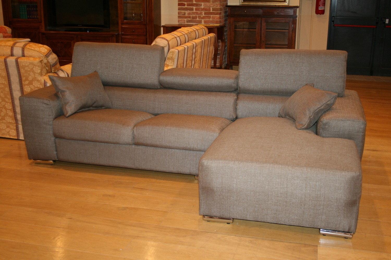 Divano con penisola tessuto divani a prezzi scontati for Penisola divano